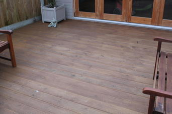 wooden decking in broadstairs